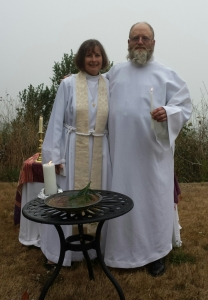 First Baptism - Mother Nancy and Cap'n Zach