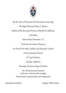 Sister Diana Diaconate Invitation Oct 2014 medium(1)